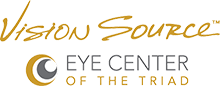 Vision Source Eye Center of the Triad Logo